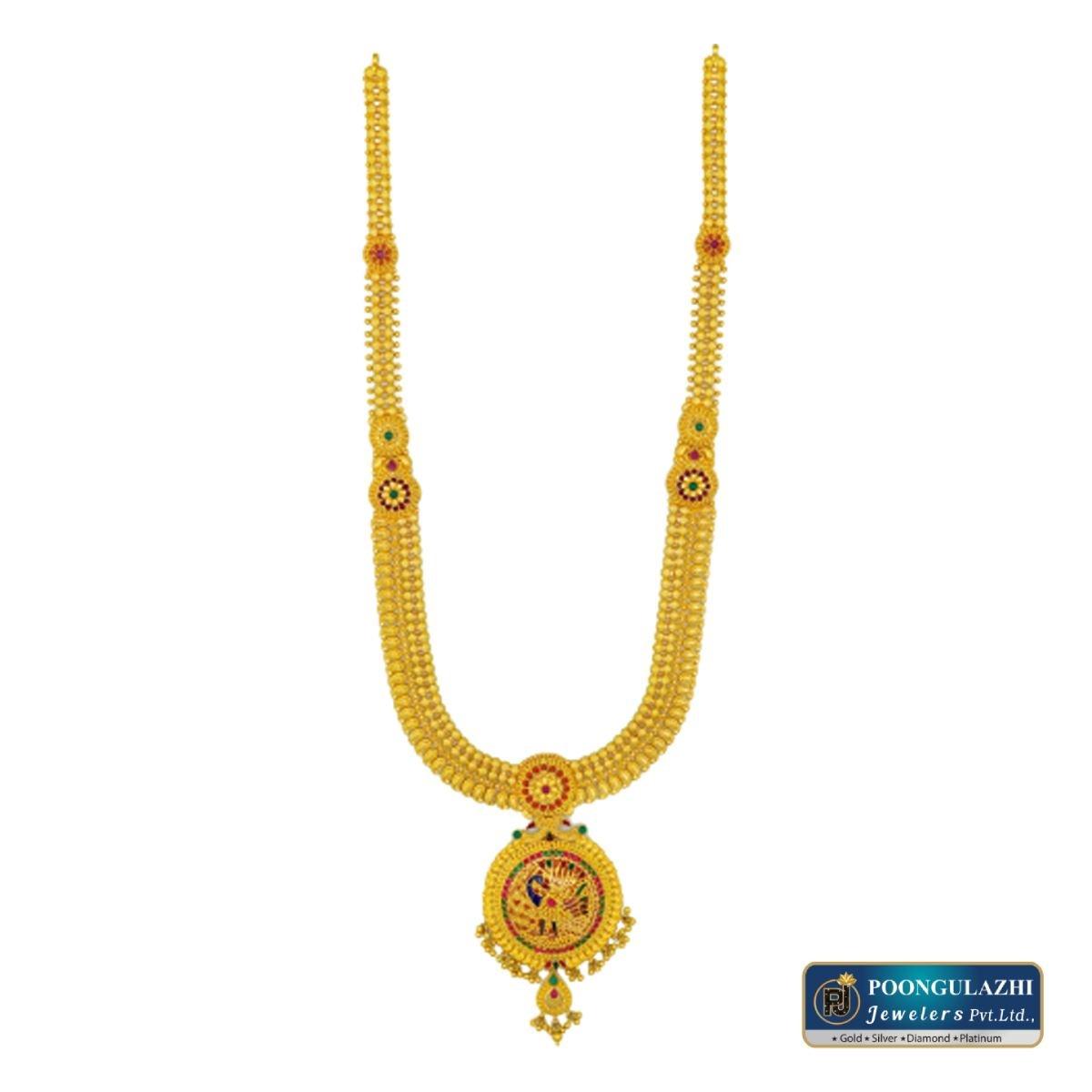 Silver Plated Gold Bracelet in Melur